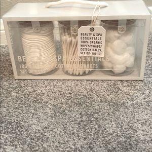 organic wipes swabs cotton balls
